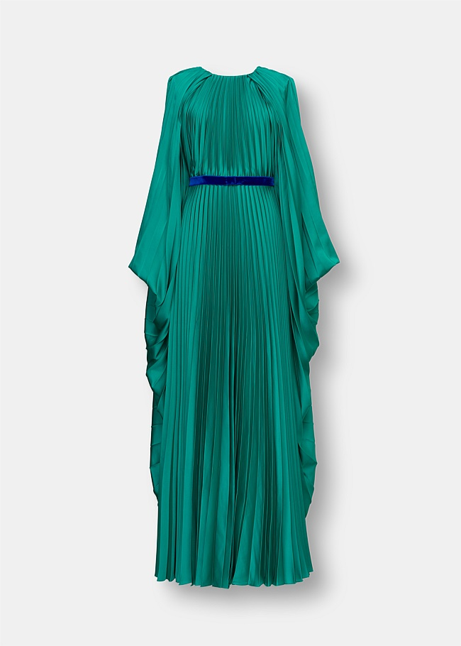 Inara Cape Sleeve Maxi Dress