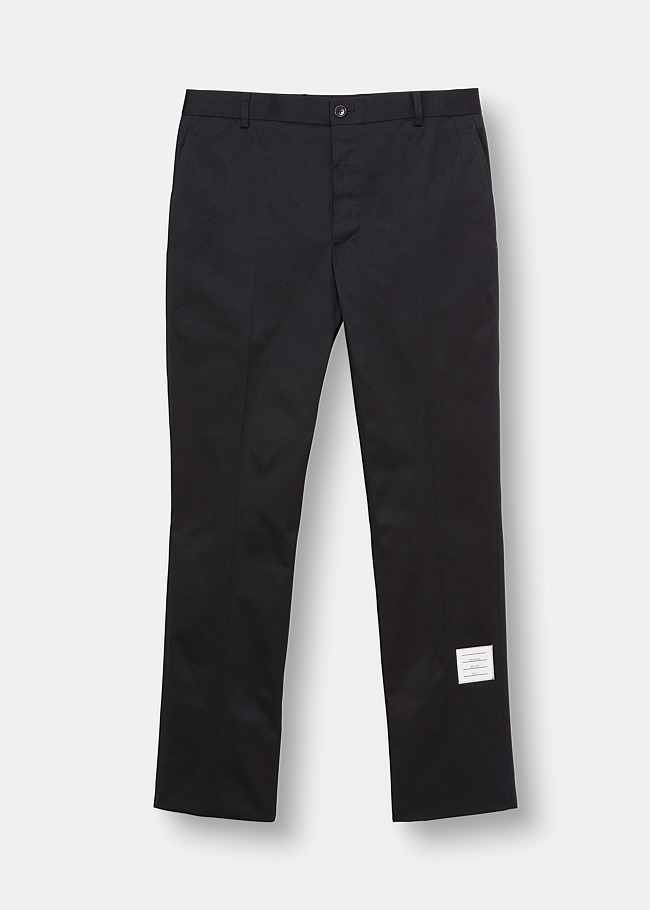 Unconstructed Cotton Twill Chino Trouser
