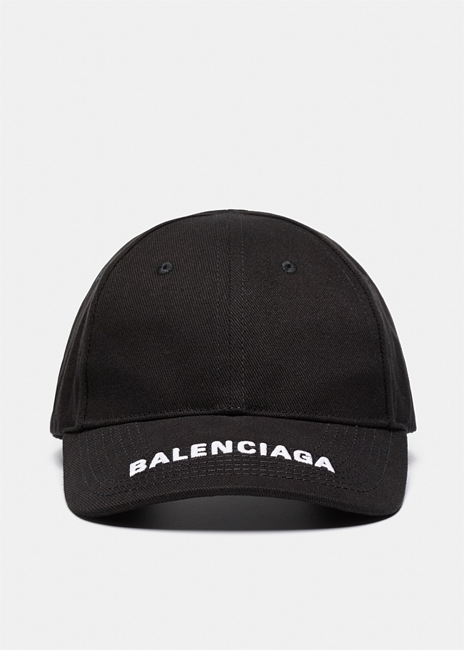 Balenciaga Embroidered Logo Cap