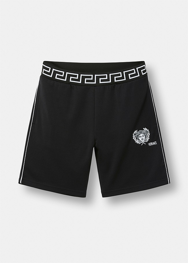 Medusa Logo Gym Shorts