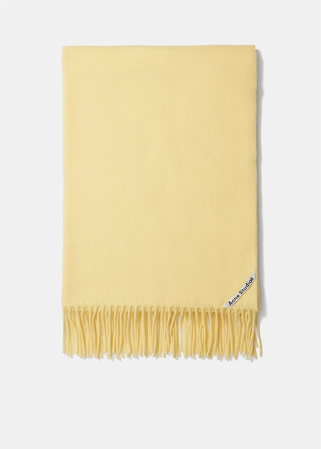 Canada New Fringed Wool Scarf