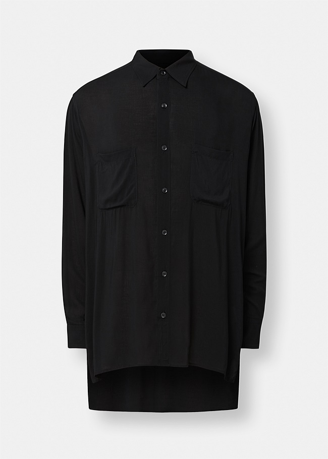 Oversized Long Sleeve Shirt