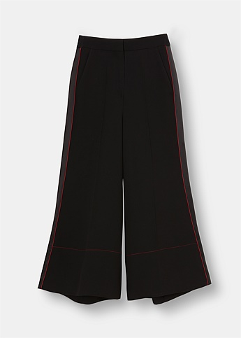 Hasani High Waist Crepe Trousers
