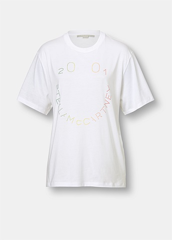 Happy Logo Organic Cotton T-Shirt