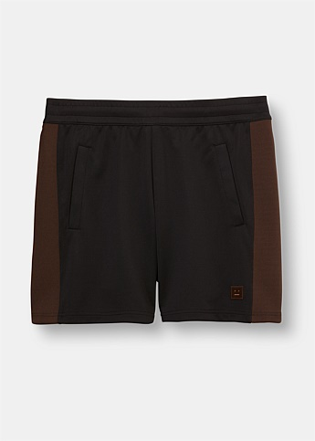 Prescot Contrast Panelled Track Shorts