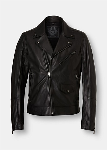 Fenway Leather Biker Jacket