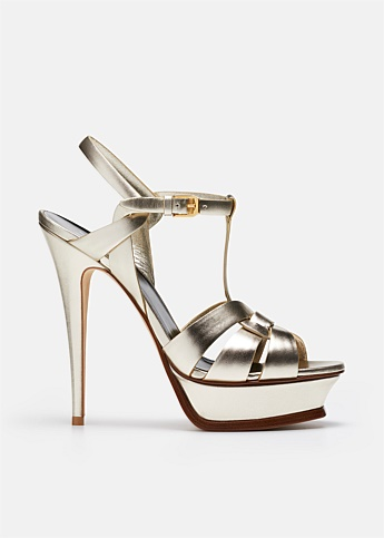 Metallic Tribute 105 Heeled Sandal