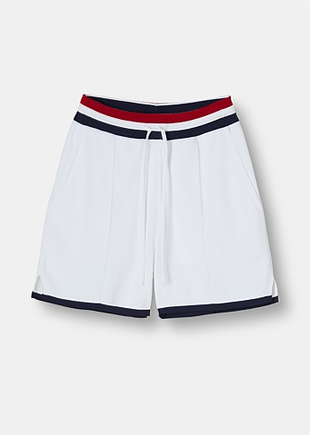 RWB Ribbed Pin Tuck Shorts