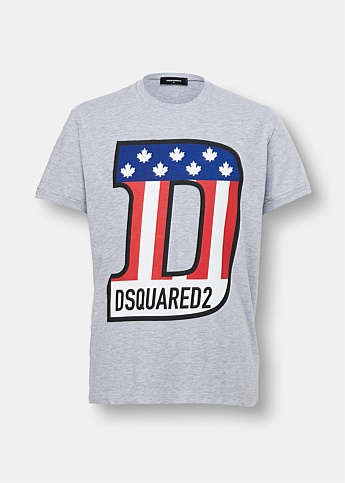 D-Flag Graphic T-Shirt
