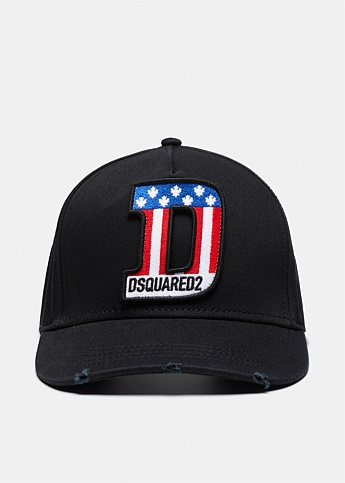 D-Flag Embroidered Baseball Cap