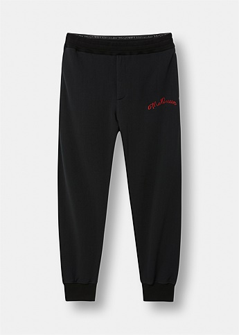 McQueen Embroidered Sweatpants