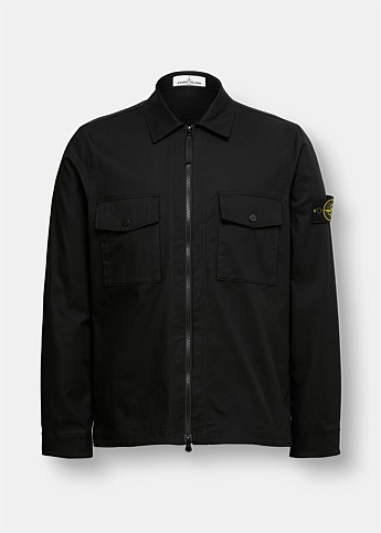 Ripstop Zip-Up Overshirt