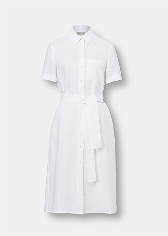 Camilo Linen Shirt Dress