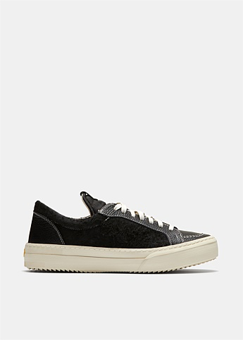 V1 Low Top Leather Sneakers