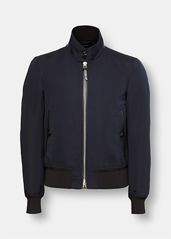 Zippered Front Blouson