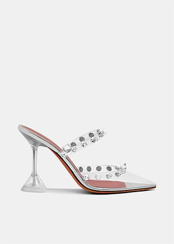 Julia Spike Embellished PVC Mule