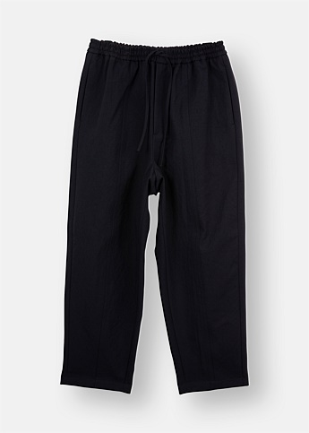 Drawstring Waist Relaxed Pants