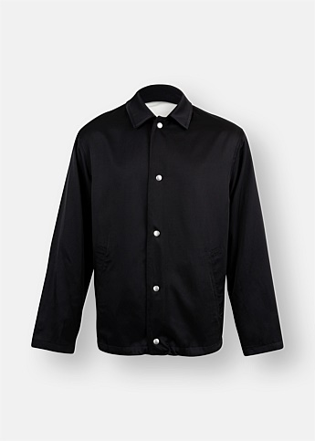 Long Sleeve Cotton Twill Jacket