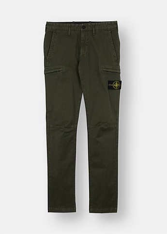Logo Patch Cargo Pants