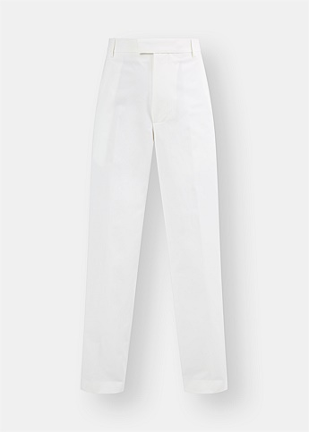 High-Waisted Stretch Trousers