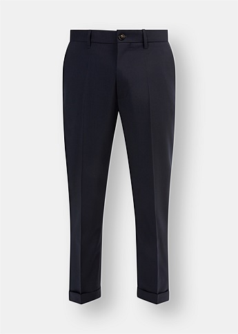 Slim Wool Trousers