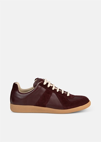 Replica Burgundy Leather Sneaker