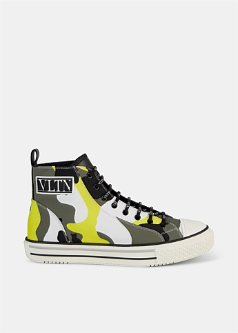 Giggies Camouflage High-Top Sneakers