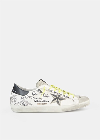 Superstar Graffiti Low-Top Sneakers