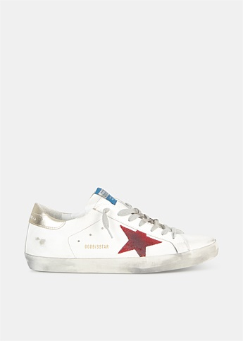 Superstar Red Star Low-Top Sneakers