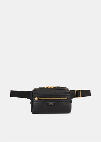 Full-Grain Leather Belt Bag