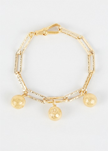 The Anchor in the Storm Gold Plated Bracelet