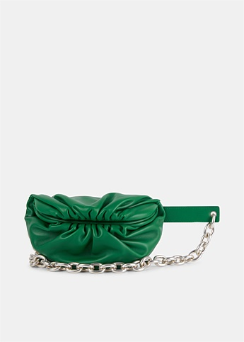The Belt Chain Pouch Green
