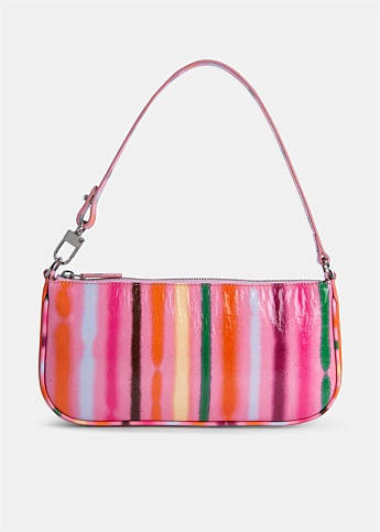 Rachel Multicoloured Striped Bag