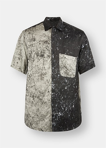 Paint Splatter Oversized Shirt