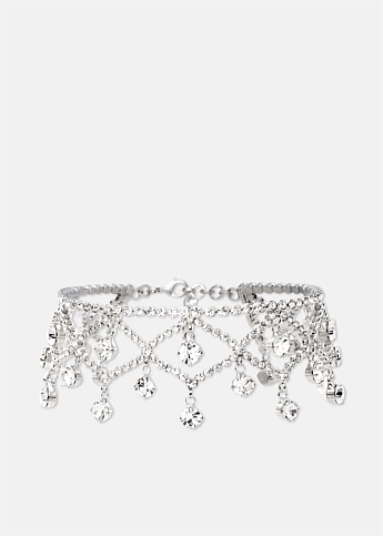 Multi-Drop Crystal Choker