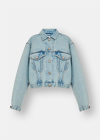Crystal Embellished Denim Jacket