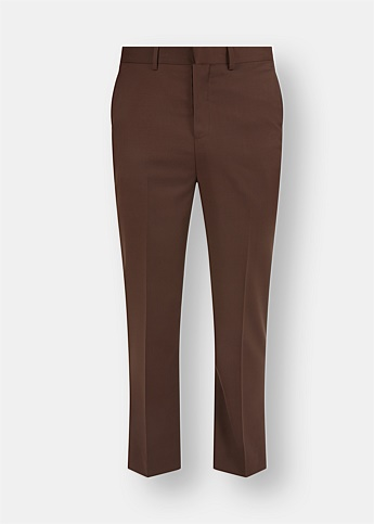Partner Brown Tailored Trousers
