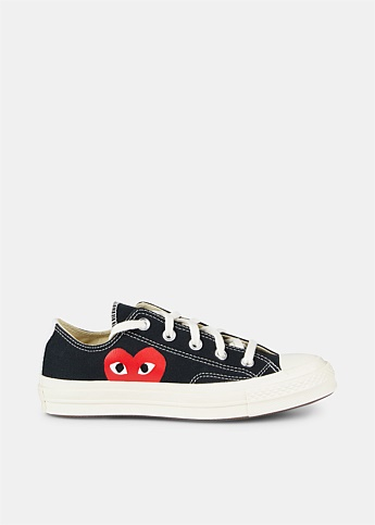 Chuck Taylor 70s Black Low-Top Sneakers
