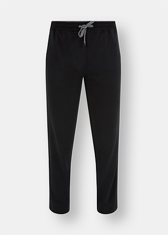 Straight-Leg Tracksuit Pants